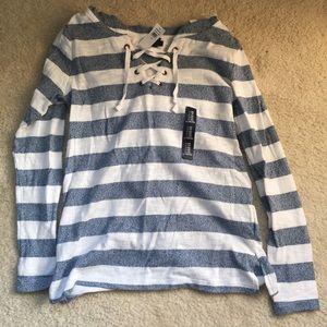 gap thin hooded sweater XS